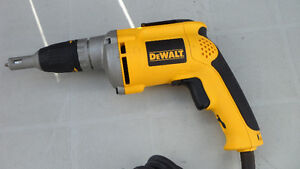 Dewalt DW272 Drywall Screw Driver $100.