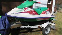 Seadoo XP 1994 with trailer, new engine with balance of warranty