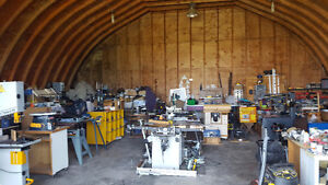 WOODWORKING SHOP and WOODWORKING MACHINES