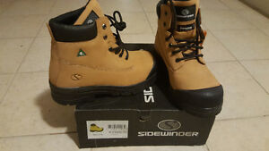 Men's Sidewinder stell-toe safety shoes