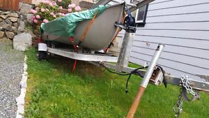 12ft Kokannee boat & Trailer