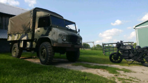 1968 MERCEDES BENZ UNIMOG Completely stock org swedish military
