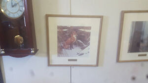 Robert Bateman framed prints 25 each