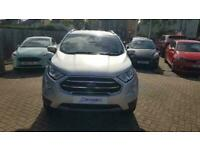2018 Ford Ecosport TITANIUM 1.0 ECOBOOST 125ps Manual Hatchback Petrol Manual