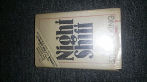 Stephen King Night shift first edition first print
