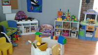Childcare Space Availability(36 months & Under) -  September