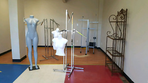 Clothing Racks For Sale (Mannequins are ALL SOLD, SORRY)