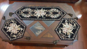 Beaded covers for dining tables , coffee table and others London Ontario image 3