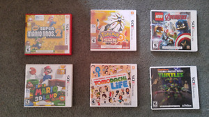 3ds games and xbox one games