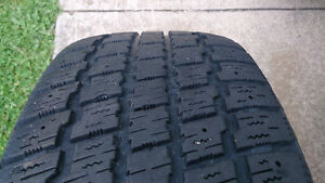 Cooper Winter Tires 225/60/16 on 6x139.7 $50 for the set