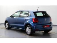 2015 Volkswagen Polo 1.0 S A/C 60PS Petrol blue Manual