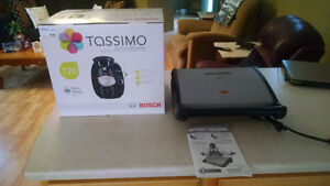 For Sale New Tassimo Coffee Maker and George Forman Grill