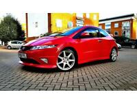 SUPERB RED HONDA CIVIC 2.0 TYPE R GT ALLOYS RECARO SEATS 2008 PX