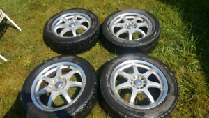 225/55 17 101 Winter rims and tires