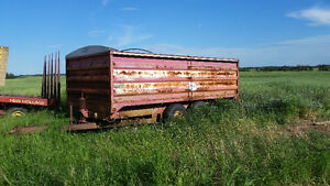 16 foot grain/ utility trailer