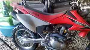 2008 honda crf 150 with electric start