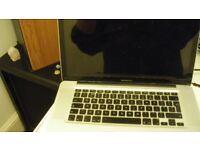 """Apple Macbook 15"""" screen mid 2009 working but read description bargain buy look@@!!"""