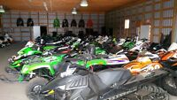 WE ARE OVER STOCKED  WITH SNOWMOBILES AND WE'RE BLOWING THEM OUT