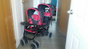 safety first double stroller