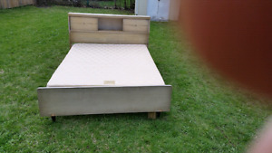 Bed frame plus boxspring