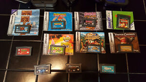 GameBoy Advance (GBA) + Games