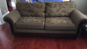 Reversible Comfy couch&love seat, oversized chair. London Ontario image 2