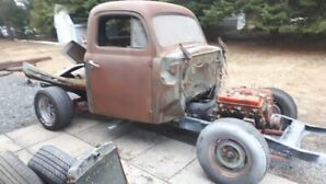 1950 MERCURY PICK-UP AND SOME HOTROD PARTS
