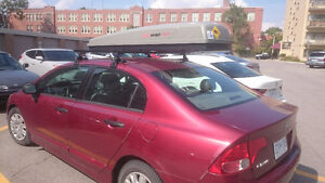 Roof rack and Jetbag Roof Carrier