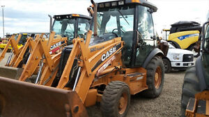 UP FOR AUCTION-2008 CASE 580SM BACKHOE