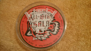 RARE 2005 MLB Baseball All-Star Game Disc Set + Jays Bobblehead