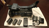 Sony HDR FX1 Video Camera, Light Kit and Mic   $1275.