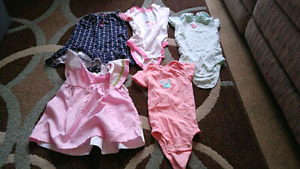 Girls baby clothes size 18 months (2 pajama sets and 13 other)