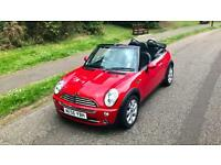 Mini Cooper Convertible 1.6 Chili pack, Px, Swap
