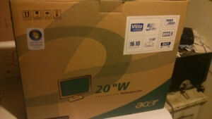"""*NEW* Acer 20"""" LCD monitor (in box; never used) $85"""