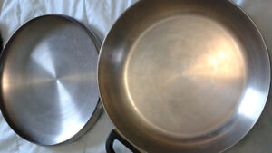 Covered fry pan