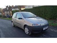 FIAT PUNTO 8V - 12 months MOT 2002 Manual 50604 Petrol Grey Petrol Manual