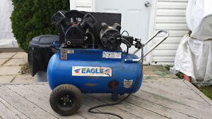 Compresseur Eagle 20 gallons