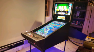 Full Sized Video Pinball and 2 player Arcade