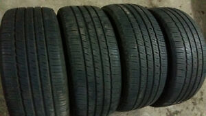 AllSEASON / SUMMER TIRES  235/55/19  (SET OF 4$170)