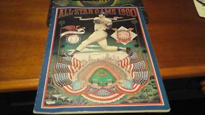 All Star game program 1980