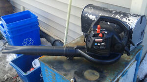 craftsman gas leaf blower runs great