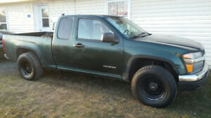 2004 Chevy Colorado/Canyon, Rwd, Automatic.
