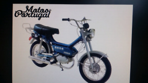 Casal Moped  From Portugal  1975 k-168 Asking $700.