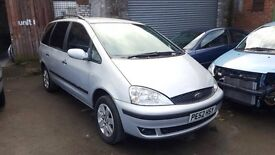 Ford Galaxy 1.9Tdi Zetec Estate 2002/52 107k
