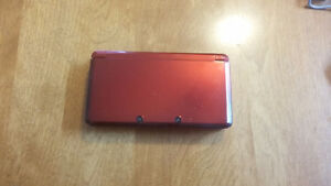 Red 3DS with 10 games