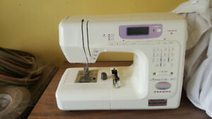 Janome Memory Craft 4800 Sewing machine with table