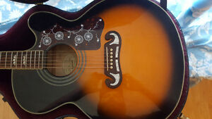 Epiphone EJ-200 Super Jumbo Acoustic Electric, Vintage Sunburst