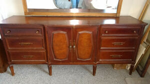 Gibbard 9 drawer dresser with mirror
