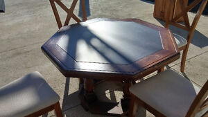 Solid Wood Table (Octagon shape) Peterborough Peterborough Area image 4