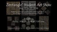 Zentangle Student Art Show